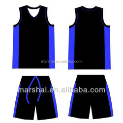 Customized sublimated basketball shirt
