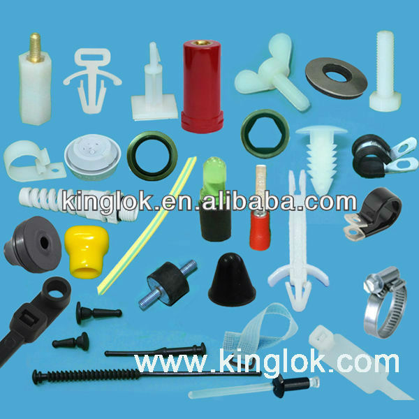 plastic injection spacer support plastic rivet cable spacers