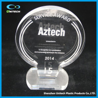 high transparent OEM different style art & collectible trophies/awards