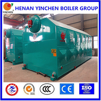 industrial usage coal fired steam boiler carbon steel material 6 ton steam boiler for selling