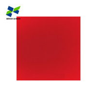 3003 3005 Alloy PVDF Prepainted Color Coated Aluminium Plate For Roofing System