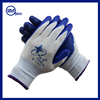 Custom labour protection glove antiskid oil thin adhesive wear resistant coated black nitrile glove