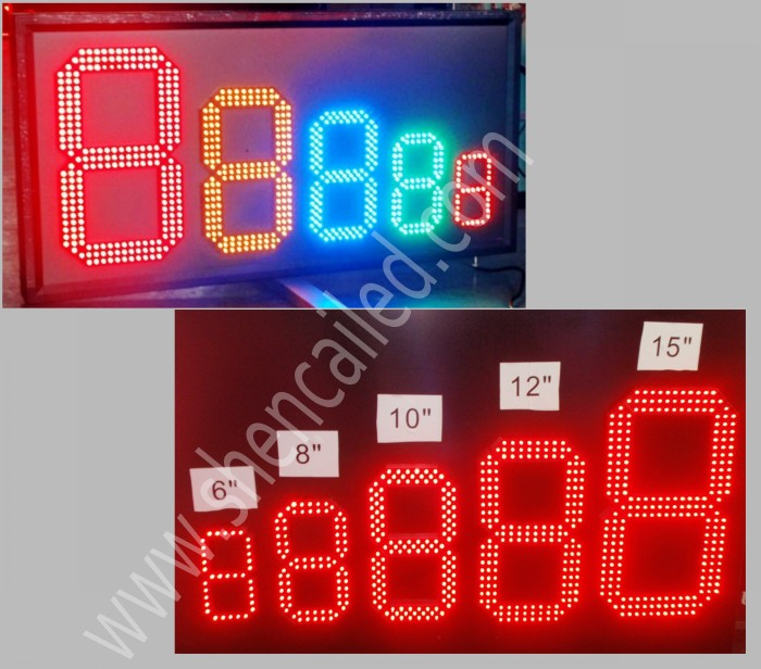 advertise in alibaba 12 inch 8.88 led display board price