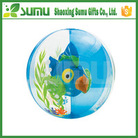 Best Band In China bottom price heart shape beach ball
