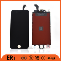 Factory low price lcd supplier phone lcd for 6, black phone lcd display for iphone 6, phone lcd assembly 6