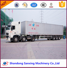 TOP SALE 3-axle box van semi trailer 40ft container truck trailer for sale