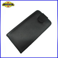 New Arrival Leather Case for Blackberry 10 Z10, Flip Cover Holster Laudtec