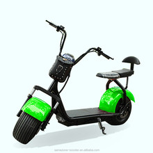 1000W Motor 60V 20Ah Battery electric scooter sidecar with CE