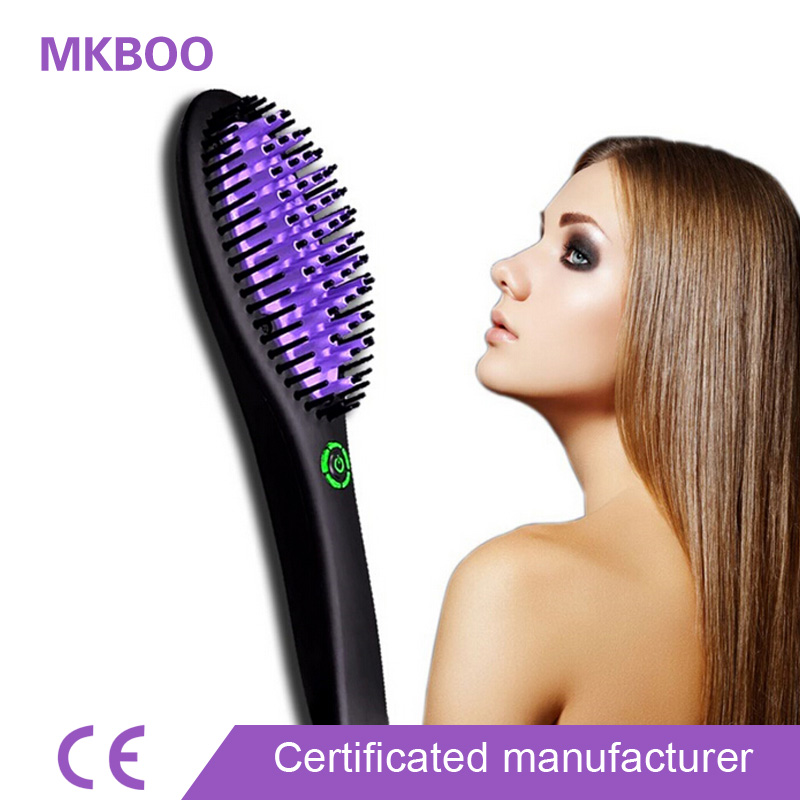 Low Price Hair Straightening Machine with Hair Straight Brush