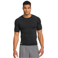 Sexy men t-shirts skintight dry fit sport t-shirts, solid color 100% polyester wholesale blank t-shirts