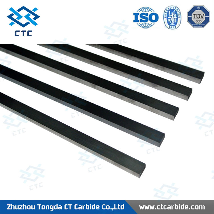 YG10X YG8 YG6X K10 K20 310mm 330mm rectangular cemented carbide strips tungsten carbide strips