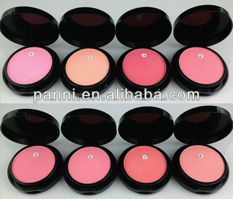 wholesale make up OEM factory 8color blusher/beauty blush