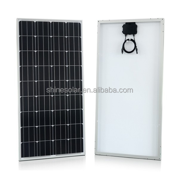 solar pv modules 100w poly crystalline