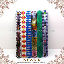 High Quality professional diamond nail file with stone