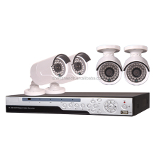 Security product 4ch dvr kit cctv 720P real time support ahd/nvr/dvr three in one