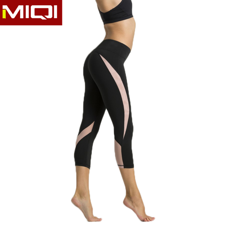 Wholesale New Design Girls Genie Sports Pant Sexy Customized Bodybuilding Women Nylon Tights For Running&Yoga