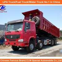 China Howo Dump Truck Used For