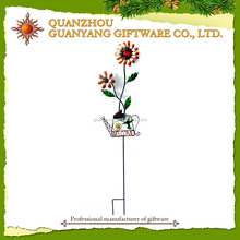 Sunflower garden stake for Garden Decoration