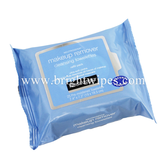 Feminine Facial Cleaning Wet Wipes Makeup Remover Wipes Tissue