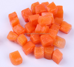 wholesale newest arrival Shandong Frozen New Carrot Dice