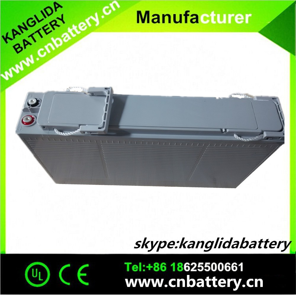 Double Tech Sealed Maintenance Free Type Battery 12v 180ah solar energy system