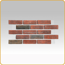 Fast install Fiberglass brick mesh pasting for wall brick cladding