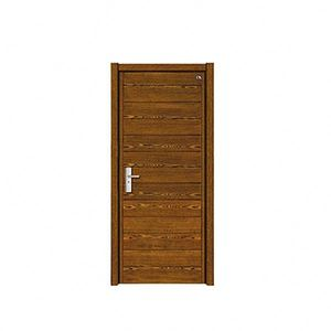 China wholesale install easy install steel wooden door