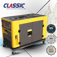 CLASSIC CHINA 16KW Mini Water Powered Generators, Three Phase Generator Set, 380V 50HZ 16KW 20KVA Diesel Generation