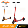2016 new arrival two wheel kick scooter with foot brake/two wheel kick scooter for children/pedal kick scooter