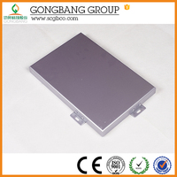 Aluminum sound insulation paintable wall covering panel