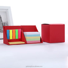 Sticky Memo Note Desk Organiser Box Set/promotion Sticky Notes in Cube Box