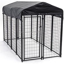 zinc portable metal dog fence