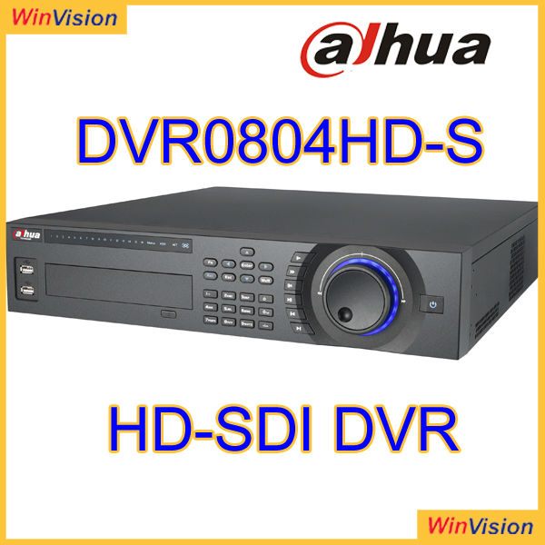 Dahua DVR0804HD-S Digital Video Recorder Support 3G Smart Phone like iPhone, iPad, Android, Windows Phone