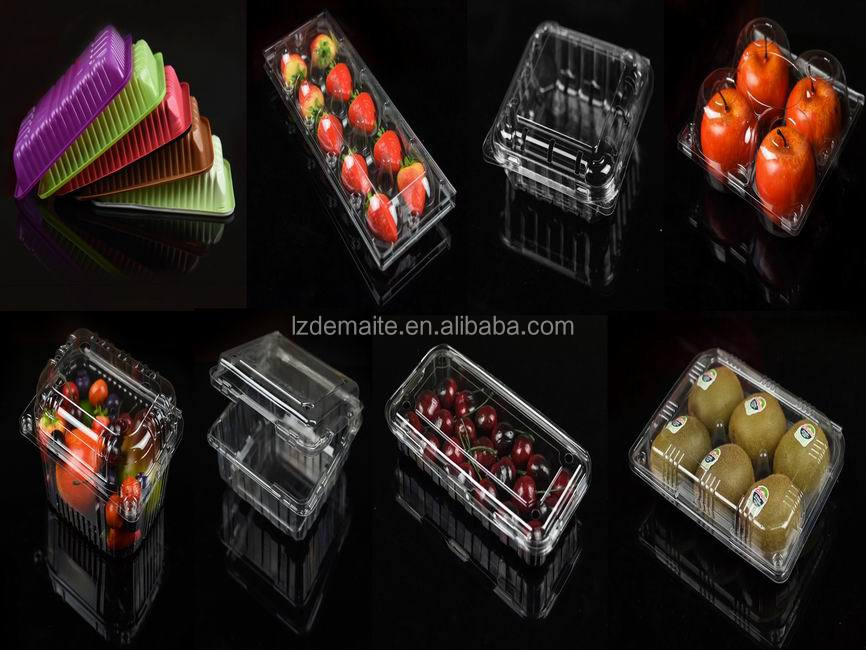 FDA Approved Food Grade Custom Made Thermoformed Disposable Plastic Persimmon Fruit packaging Tray