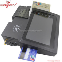 waypotat industrial android tablet with card reader and 2d barcode i9300