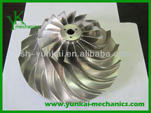 Integrated framework of tool path planning in 5 axes machining of centrifugal impeller with split blade, impeller wheel