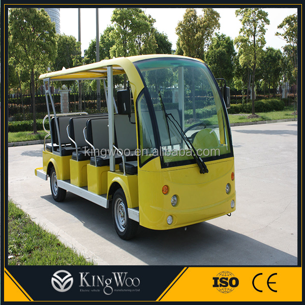 Customized 14 Seats Electric Sightseeing Shuttle City Minibus in Philippines