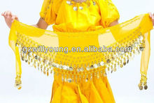 2013 New belly dance hip scarf for kids, Cheap belly dance children hip scarf