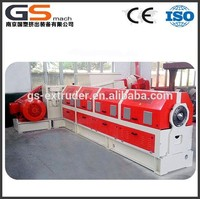Single screw extruder machine for making carbon black masterbatch