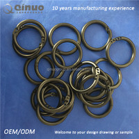 OD 65 ID 49mm black color plastic circle ring PE ring