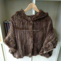 Women Clothing High Quality Knitted Muskrat