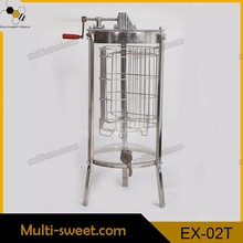 Stainless Steel reversible 20 frames honey extractor/honey processing plant