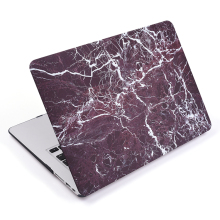 Marble hard shell case cover for Macbook Pro 13
