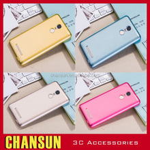 Alibaba hot selling Ultra Thin Cover Transparent Candy Color Soft TPU Silicon back cover Phone Case for redmi note 3