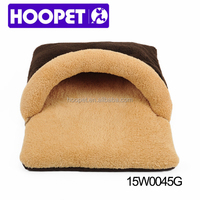 HOOPET 2015 all seasons use new arrival slipper plush pet bed cat house