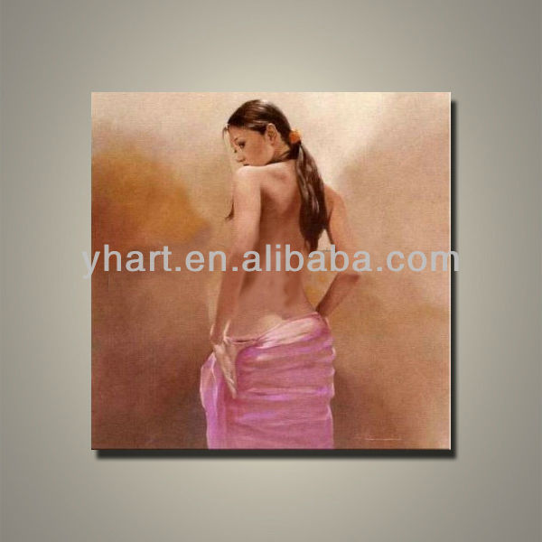 2013 hottest home goods sexy nude women art painting