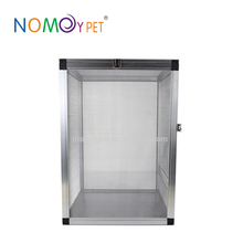 Nomo new design glass Pet home, Reptile Cages,easy to Clear aluminum small animal cages