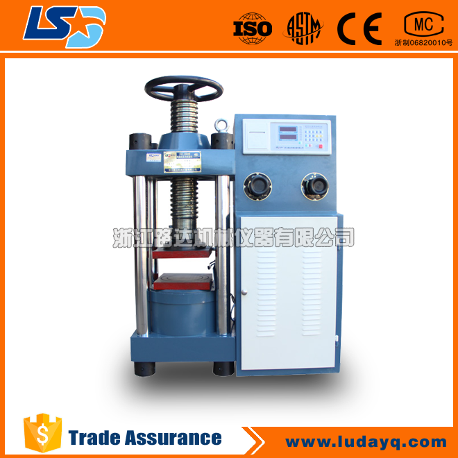 TSY-2000 Digital Display Manual Concrete Compression Testing Machine,Compressive Strength Testing Machine,Compression Tester