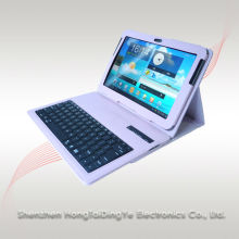 "Hongtai dingye Bluetooth keyboards with leather case For samsung galaxy tab 8"" tablets 7510"