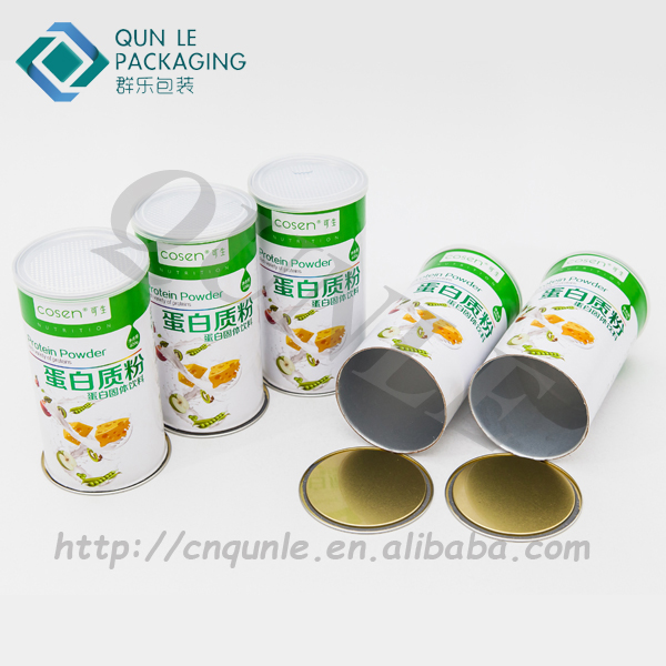 Custom Composite Dried Food Paper Container